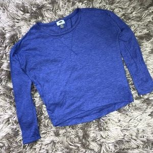 Old Navy Blue Long-Sleeve Top Size XS